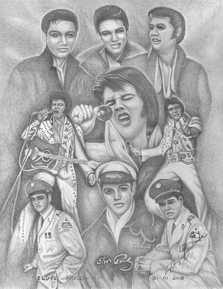 Elvis Presley por voyageguy@gmail.com